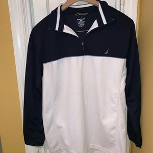 Nautica Fleece Pullover w/quarter zipper